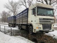 В Запорожской области водитель фуры попал в аварию, потеряв сознание