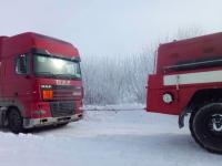 За ночь на запорожской трассе спасли почти 800 человек – некоторые простояли в пробке более 10 часов