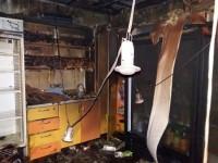 Ночью в Запорожье сожгли киоск с кондитерскими изделиями