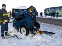 Смертельное ДТП с автобусом: в результате удара авто загорелось – подробности