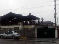 В сети опубликовали фото сгоревшей погранзаставы в Кирилловке