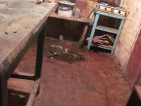 В Запорожье живодер обезглавил и разделал на мясо собаку