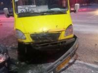 Пассажирка запорожской маршрутки получила перелом в ДТП (Фото)