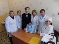 Запорожский врач с 72-летним стажем работы установила рекорд