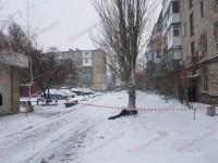 Опубликовано видео с места подрыва полицейских в Бердянске