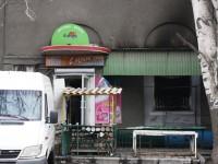 «С легкой руки»: в новогоднюю ночь в центре Запорожья сгорел магазин (Фото)