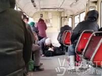 В центре Запорожья умер пассажир трамвая