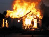 В пожаре под Запорожьем погиб мужчина