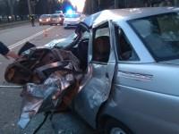 На Правом берегу Запорожья тройное ДТП с грузовиком – есть пострадавшие (Фото)