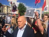 В центре Запорожья скандальный «Полк Победы» бывшего регионала проведет акцию