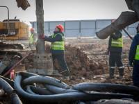 Как в Запорожье продвигается строительство нового терминала аэропорта (Фото)