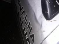 В Запорожье пьяный водитель разбил полицейский «Приус» и пытался сбежать