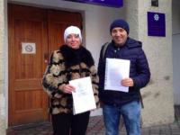 Запорожский журналист написал на депутата заявление в полицию