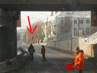 «Передайте это фото Илону Маску»: запорожские коммунальщики креативно борются с сосульками