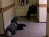 В Запорожской области бездомные ночуют в коридорах больницы