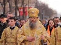 Служители Московского патриархата пройдут по центру Запорожья с иконой