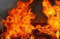 Ночью в Мелитополе сгорела легковушка