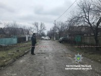 Запорожец  посреди улицы угрожал  взорвать гранату (Фото)