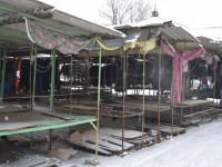 В центре Запорожья из-за стихийщиков пустует рынок