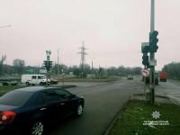 В Шевченковском районе Запорожья установили временные знаки: невнимательных водителей штрафуют