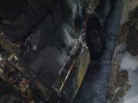 Опубликованы фото сгоревшего на Кичкасе «Спринтера»