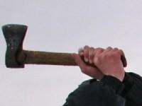 Житель Запорожской области угрожал полицейским топором