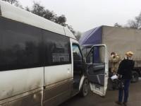 В аварии маршрутки с «Газелью» есть пострадавшие – подробности