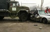 В Запорожской области «Мерседес» столкнулся с грузовиком «Водоканала» – есть погибшие