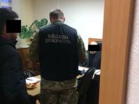 В Запорожье на взятке в четверть миллиона задержали начальника аудита налоговой