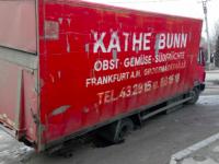 В центре Запорожья грузовик провалился в полуметровую яму (Видео)