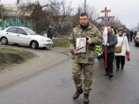 «После ранения сразу ушел на фронт»: в Запорожской области простились с военным (Фото)