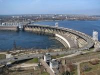 На запорожской плотине установят реверсивные светофоры