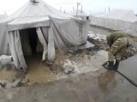 «Ад на земле»: запорожская военная показала, в каких условиях выживает на полигоне (Фото)