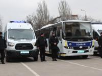 Автопарк запорожской полиции пополнился 17 новыми спецавто (Фото)