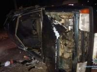 На запорожском курорте перевернулась «Лада» – погибли две молодые девушки