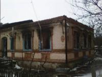 Семья запорожского военного осталась  без крыши над головой после пожара (Фото)
