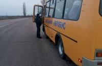 В Запорожской области школьный автобус не прошел технический контроль