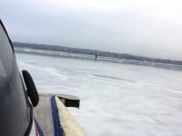 Под Запорожьем нашли пустую лодку пропавших рыбаков