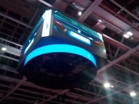 В дворце спорта «Юность» устанавливают видеоэкраны и уникальный медиакуб (Фото)