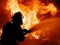 Ночью в центре Запорожья сгорела «Лада»