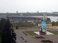 Жители Правого берега застряли в пробке по дороге домой