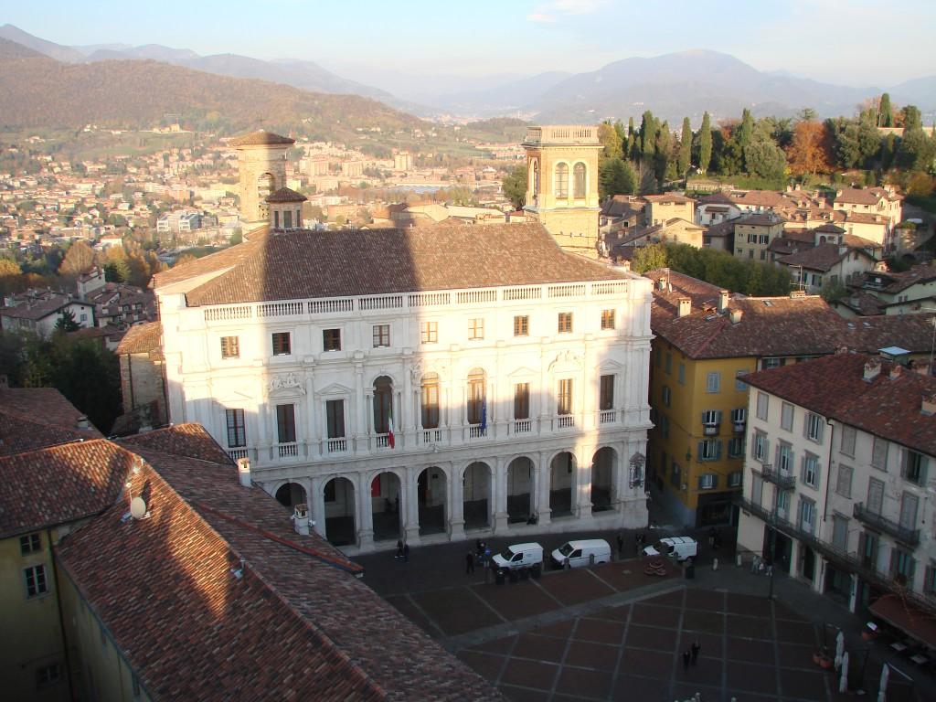 Итальянский городок Бергамо