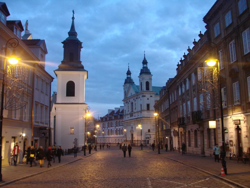 Вечерняя Варшава