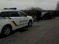Под Запорожьем двое мужчин преследовали школьный автобус с детьми, угрожая оружием