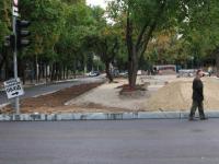 Реконструкцию проспекта Маяковского в центре Запорожья собираются заморозить