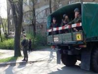 В центре Запорожья военные попали в ДТП (Фото)