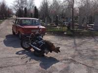 В Запорожской области произошло ДТП на кладбище