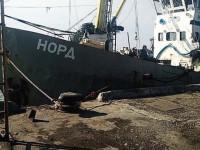 Экипаж российского судна дважды безуспешно пытались вывезти с территории Украины