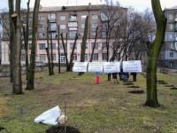 Ради строительства ТРЦ Кальцева удалят более 500 деревьев и около 1800 кустов