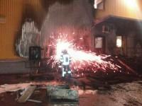 Ночью в Запорожье горел новый большой «Varus» (Фото)